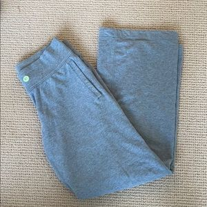 Lululemon Grey Wide Leg Sweatpants